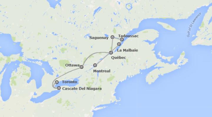 Est del Canada e Natura Selvaggia Al Completo
