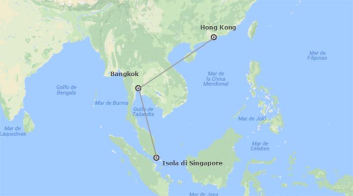 Singapore, Thailandia e Cina: Singapore, Bangkok e Hong Kong