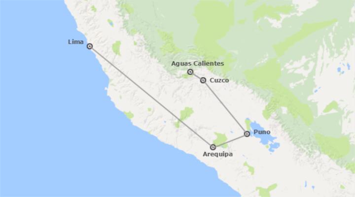 Perù: Lima, Arequipa, Cusco e Lago Titicaca