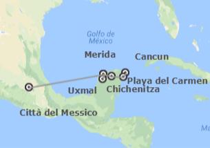 Messico: Città del Messico, Yucatan e Riviera Maya