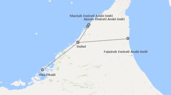 Emirati Arabi Uniti: Dubai, Abu Dhabi, Sharjah e Fujairah