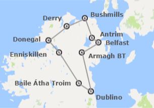 Irlanda: Nord dell'Irlanda