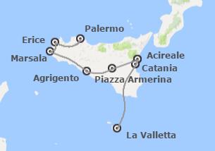 Sud Europa: Sicilia e Malta
