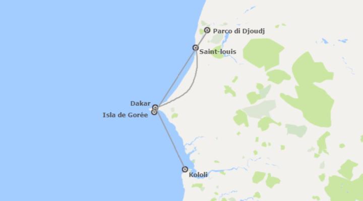 Senegal e Gambia: Nord del Senegal e Spiaggia del Gambia