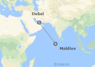 Emirati ed Isole dell'Oceano Indiano: Dubai e Maldive