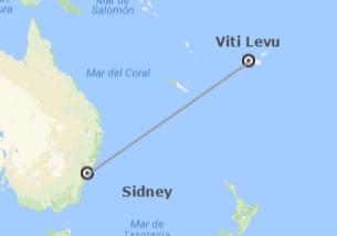 Australia e Fiji: Sidney e Viti Levu