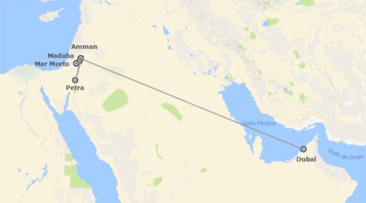 Giordania ed Emirati: Giordania e Dubai