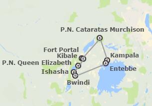 Uganda: Uganda con il Parco Nazionale delle Cascate Murchison