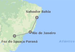 Brasile: Salvador, Rio ed Iguaçu