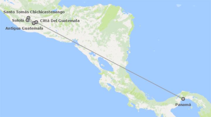 Panamá e Guatemala: Città di  Panamá e  Guatemala