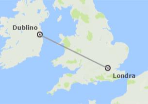 Isole Britanniche: Londra e Dublino in aereo