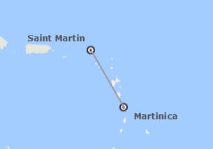 Antille Francese: Martinica e Saint Martin