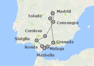 Spagna: Andalusia e Madrid