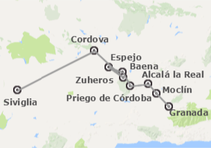 Spagna: Itinerario di Al-Andalus