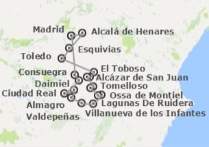 Spagna: Itinerario di Don Chisciotte