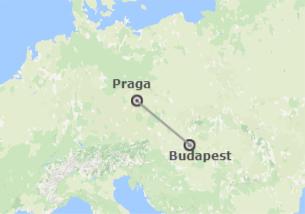 Europa Centrale: Praga e Budapest in treno