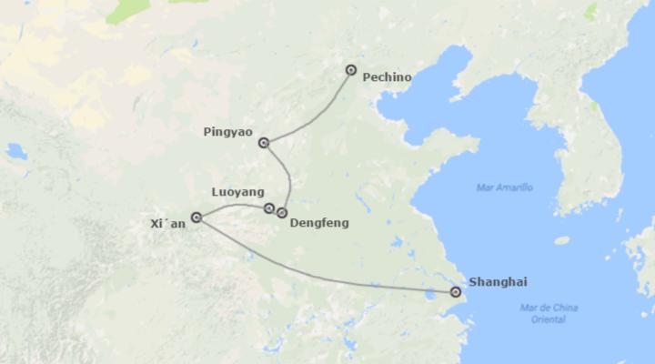 Cina: Cina Tradizionale in treno