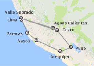 Perù: Perù con Paracas e Nazca