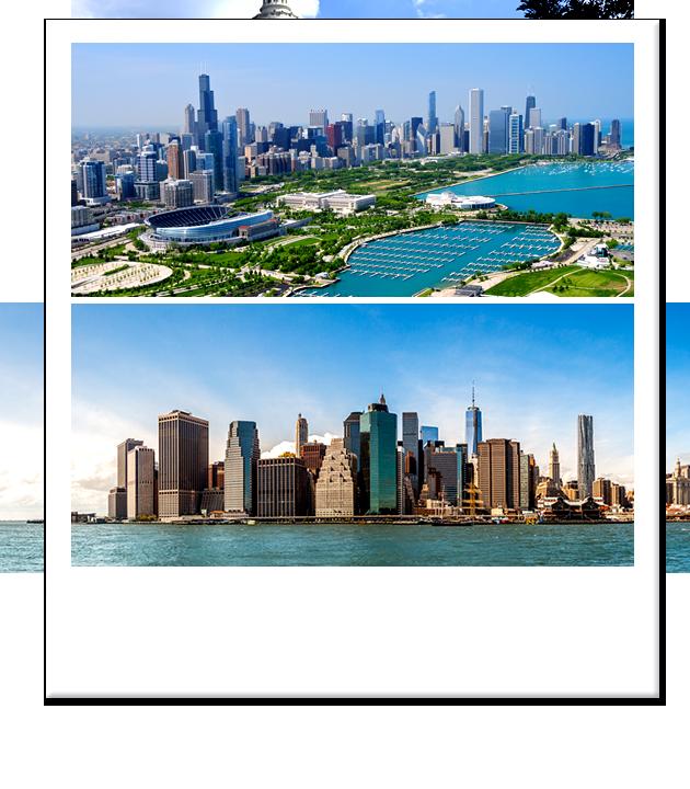 Stati uniti new york e chicago a modo tuo con notti a for Pernottamento new york