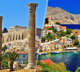 Grecia: Atene e Rodi in aereo