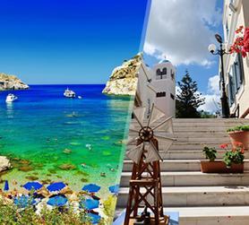 Grecia: Rodi e Kos in aereo