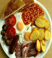 Mangiare a Inghilterra