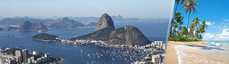 Brasile: Rio de Janeiro e Salvador de Bahia, a modo tuo con soggiorno mare