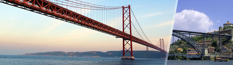Portogallo: Lisbona e Porto in aereo, a modo tuo con notti a scelta