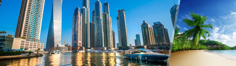 Emirati ed Isole dell'Oceano Indiano: Dubai e Seychelles, a modo tuo con soggiorno mare