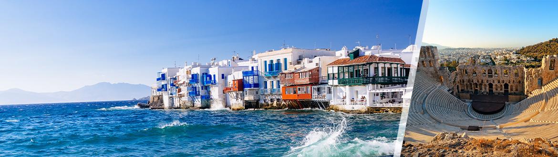 Grecia: Atene e Mykonos in aereo, a modo tuo con soggiorno ...