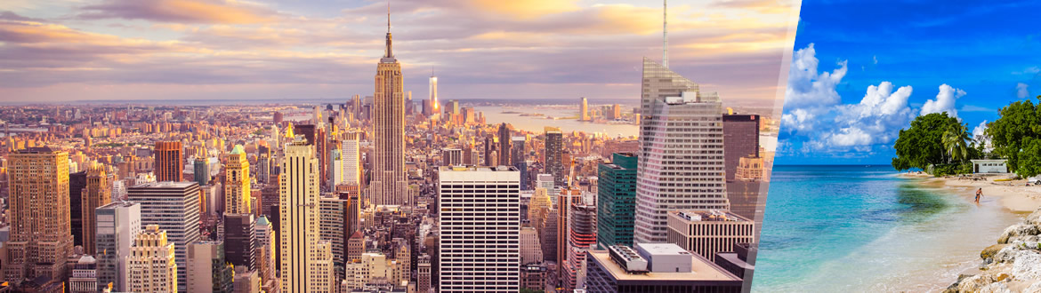 Stati uniti e barbados piccole antille new york e for Soggiorno new york