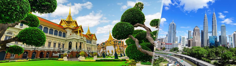 Thailandia e Malaysia: Bangkok e Kuala Lumpur, a modo tuo con notti a scelta