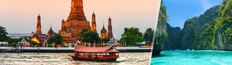 Thailandia: Bangkok e Phuket, a modo tuo con soggiorno mare