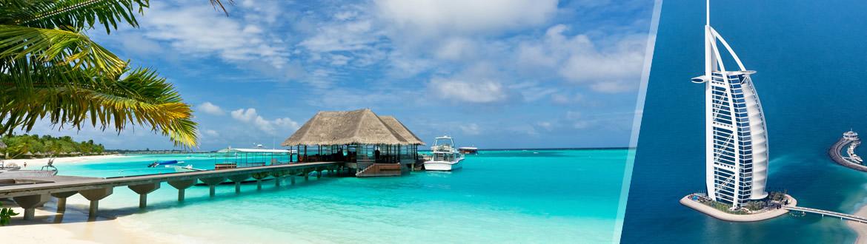 Emirati ed Isole dell'Oceano Indiano: Dubai e Maldive, a modo tuo con soggiorno mare