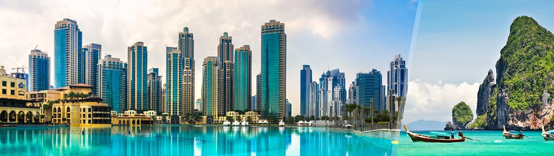 Emirati e Thailandia: Dubai e Phuket, a modo tuo con soggiorno mare