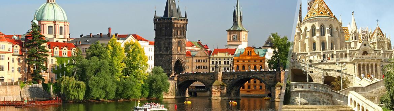 Europa Centrale: Praga e Budapest in aereo, a modo tuo con notti a scelta