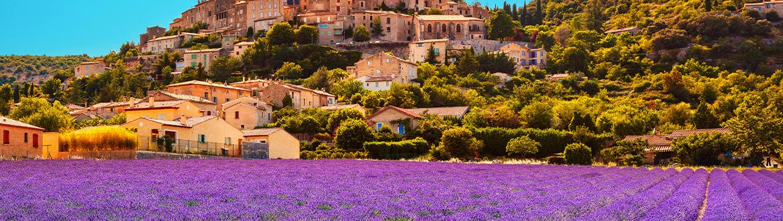 Francia e monaco percorso della lavanda attraverso la - Hoteles en la provenza ...