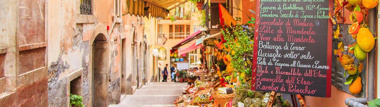 Sicilia: Sicilia da Catania con Costa Orientale, tour con soggiorno mare
