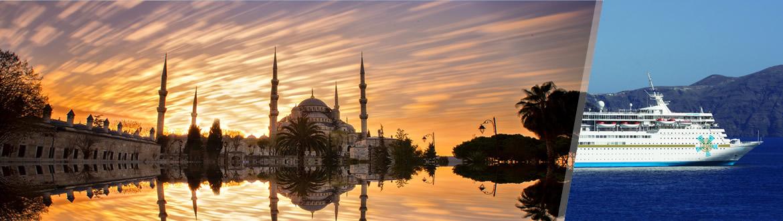 Turchia e Grecia: Istanbul, Atene e Crociera alla scoperta delle Isole Greche, soggiorno e crociera