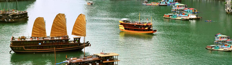 Vietnam: Da Hanoi a Saigon, tour con crociera
