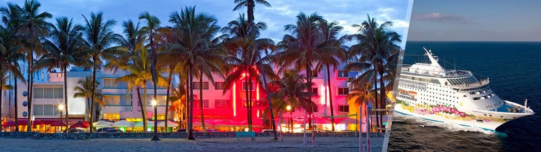 Stati Uniti e Bahamas: Miami e crociera di 5 giorni alla scoperta delle Bahamas, soggiorno e crociera