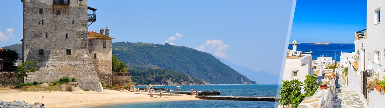 Grecia: Mykonos e Calcidica in aereo, a modo tuo con ...