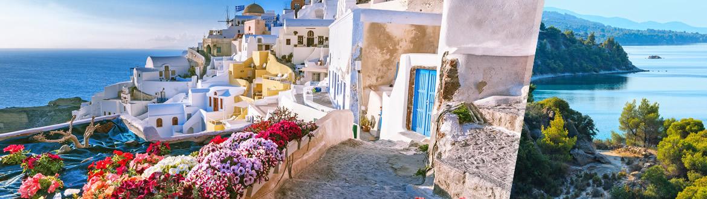 Grecia: Santorini e Calcidica in aereo, a modo tuo con ...