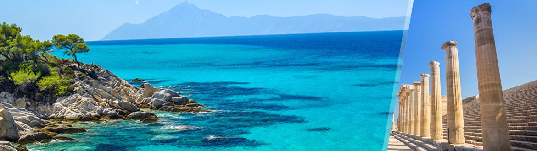 Grecia: Rodi e Calcidica in aereo, a modo tuo con ...