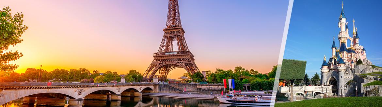 Francia: Parigi e Disneyland, a modo tuo con notti a scelta