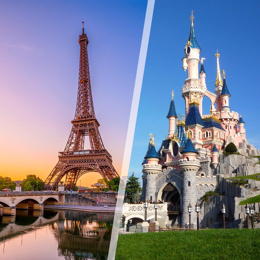 Francia: Parigi e Disneyland, a modo tuo con notti a scelta ...