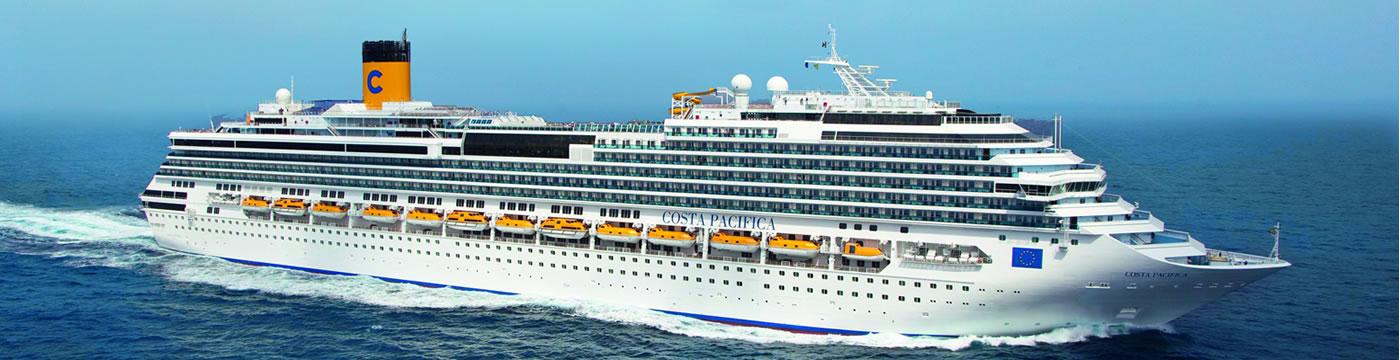 Itinerari e prezzi costa pacifica costa crociere logitravel for Costa mediterranea ponti