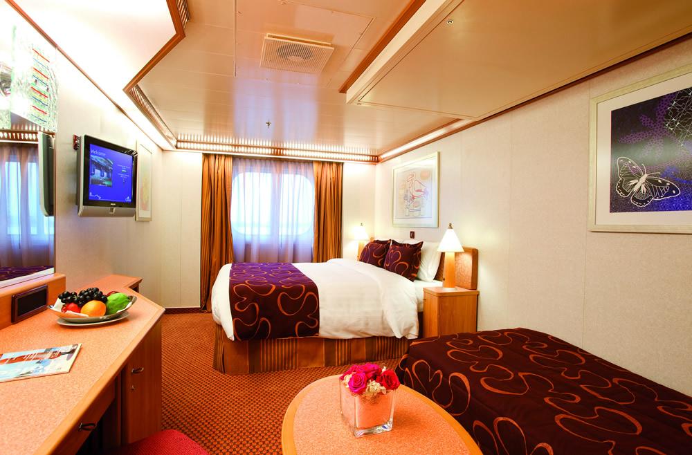 Categorie e cabine della nave costa pacifica costa for Planimetrie della cabina di log gratuito