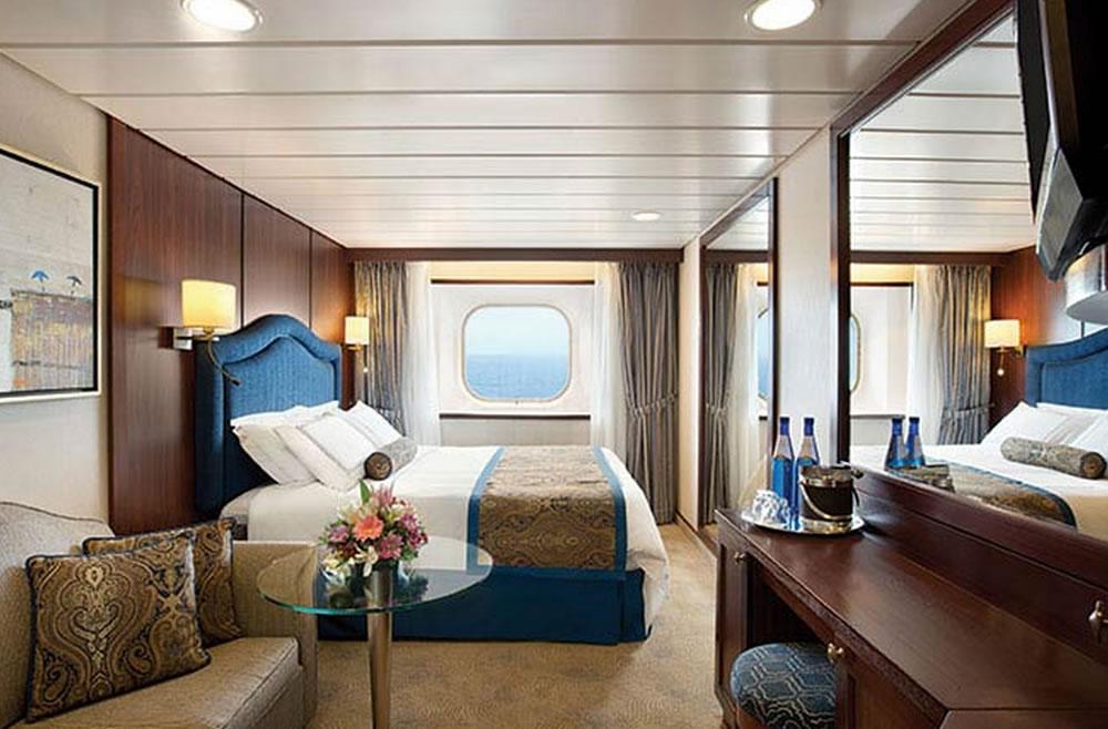 Categorie e cabine della nave Insignia, Oceania Cruises