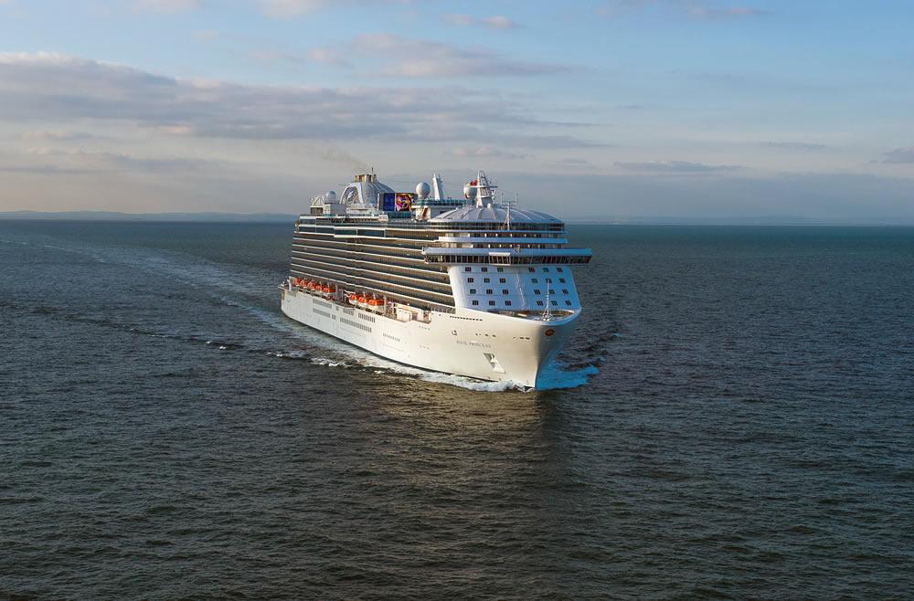 Ponti della nave majestic princess princess cruises for Quali sono le migliori cabine su una nave da crociera